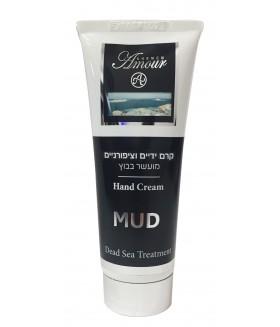 5395 Грязевой крем для рук  Black Mud Hand Cream 100 мл,  7290016361209