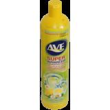 """Жидкость  для мытья посуды 1000 мл торговой марки """"AVE"""" (Лимон и цветы)"""