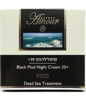 5123  Грязевой ночной питательный крем  Black Mud 35 + Night Cream, 50 мл,  7290011850777