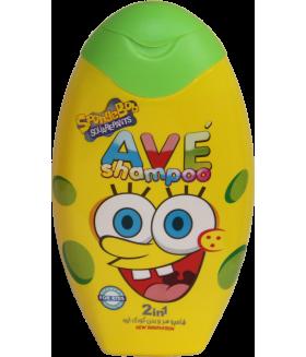 Шампунь для волос и тела детский AVE baby hair and Body Shampoo, объем упаковки 280 мл (Зелёный)